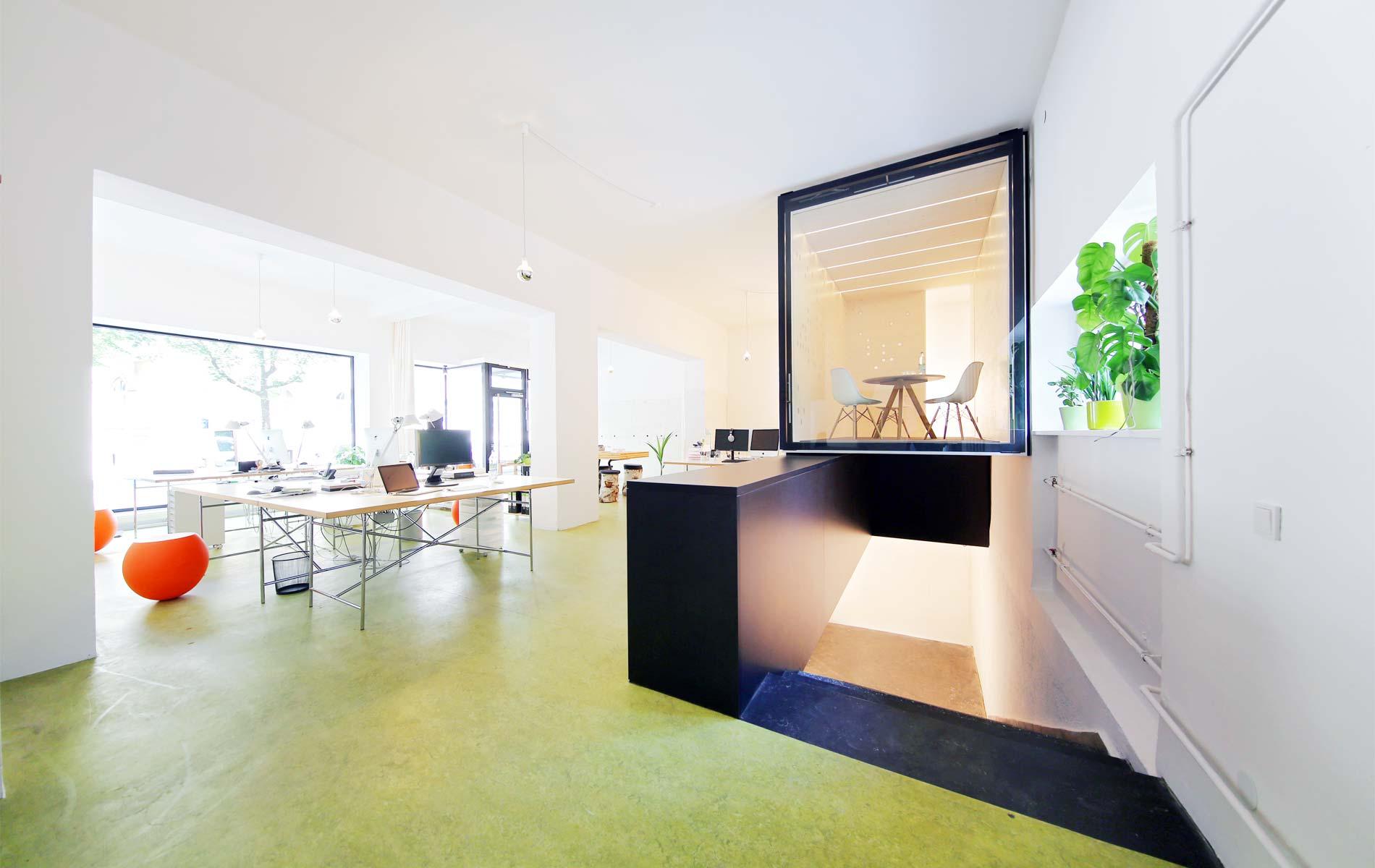 Besprechungsbox für moderne Coworking Spaces