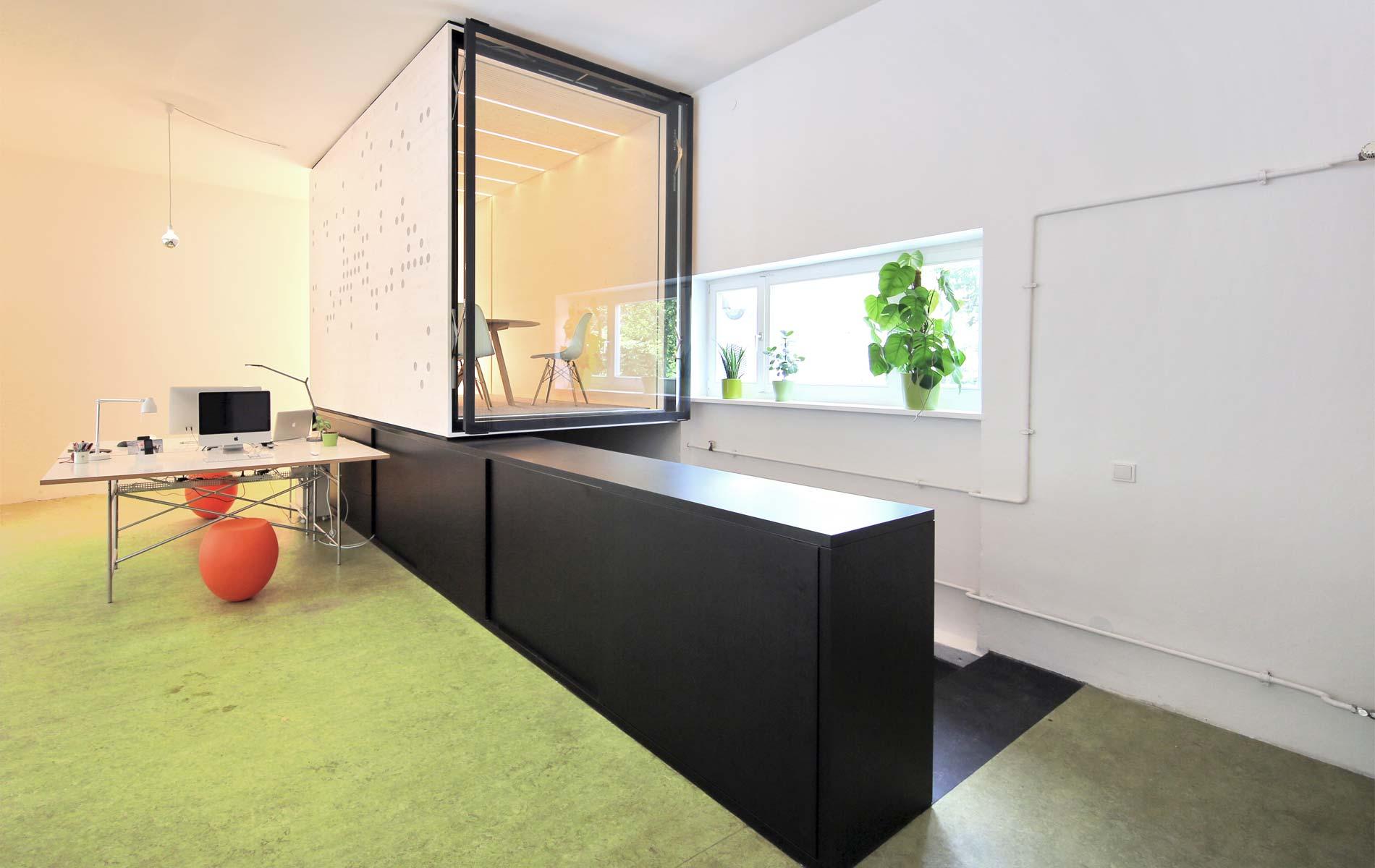 Besprechungsbox, Besprechungsraum,Coworking Spaces